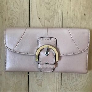 Coach wallet | trifold, pink